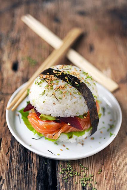 2bb69bfb9f2eca02980aec639752b139--sushi-burger-burger-party