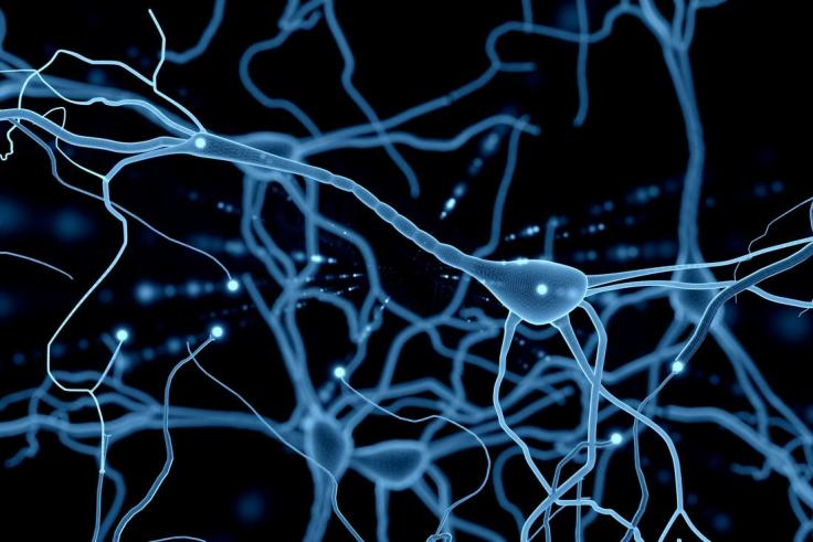 illustration-neuron-network-blue